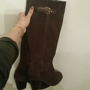 9.5 Leather Kelsi Dagger boots